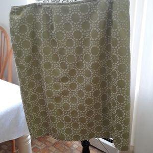 Mint green skirt, no label